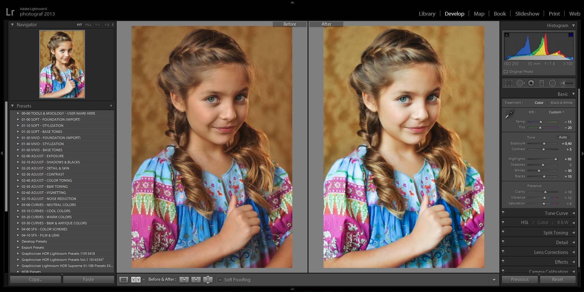 Творческая обработка фотографий в лайтрум